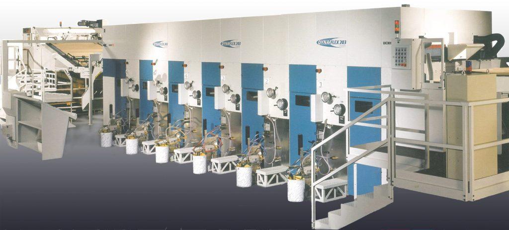 Printing Machine Bobst Dynaflex 203